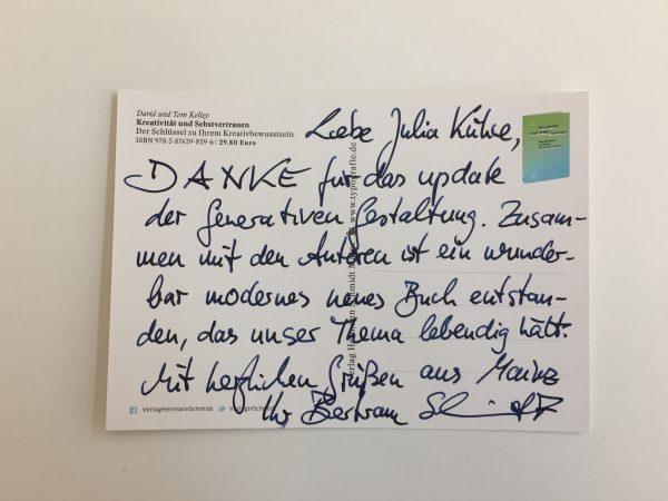 Danke, Verlag Hermann Schmidt!